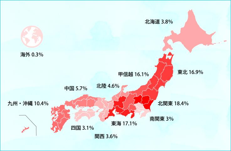 東京で一人暮らしを始める学生さんの出身地・高校はどこ?|学生 ...